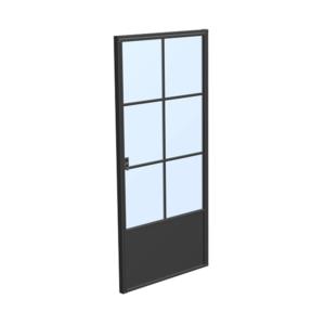 drzwi loftowe steelline w6p