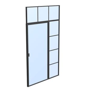 drzwi loftowe steelline w1 indywidualne